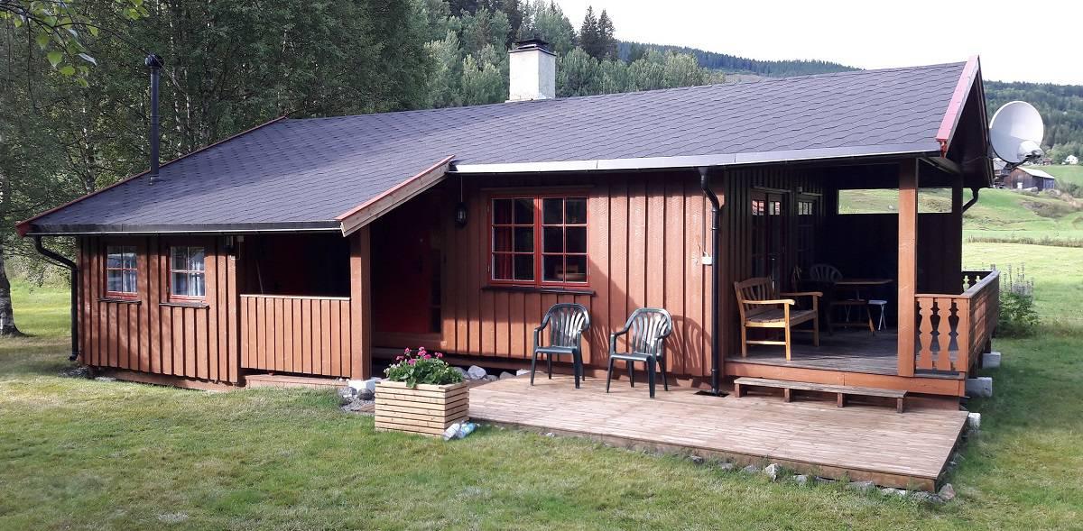 Fint med hytte, for muligheter og rekreasjon